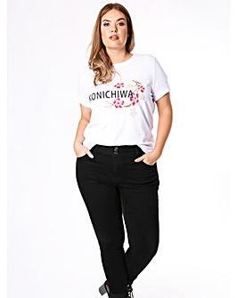 Koko Konichiwa Slogan T-shirt