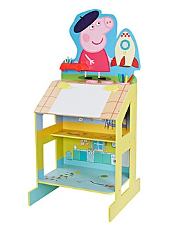Peppa Pig Play & Draw Wooden Easel