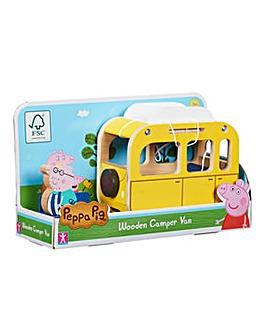 Peppa Pig Wooden Campervan