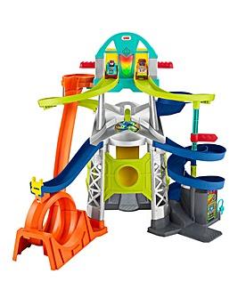 Fisher Price Little People Wheelies Launch & Loop Playset