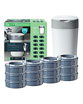 Tommee Tippee Twist & Click Starter Set with 12 Refills