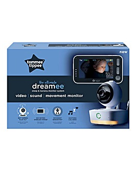 Tommee Tippee Dreamee Sound, Motion & Video Baby Monitor