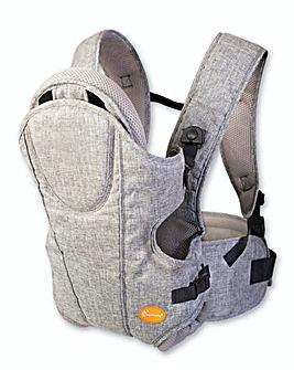 Dreambaby Oxford Baby Carrier - Grey Denim