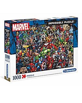 Clementoni 1000pcs Impossible Puzzle - Marvel Avengers