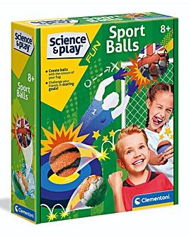 Clementoni Science & Play Sports Balls