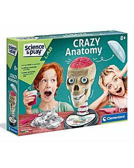 Clementoni Science & Play Crazy Anatomy Lab