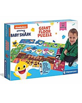 Clementoni Giant Educational Floor Puzzle - Baby Shark