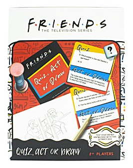 Friends Quiz Act or Draw