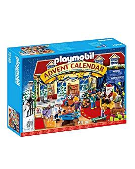 Playmobil 70188 Christmas Grotto Advent Calendar with Father Christmas