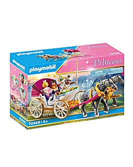 Playmobil 70449 Princess Castle Horse-Drawn Carriage