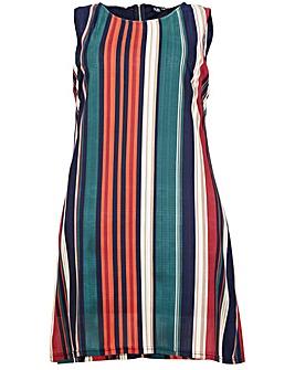 Izabel London Curve Striped Shift Dress