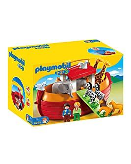 Playmobil 1.2.3 6765 Floating Take Along Noah's Ark
