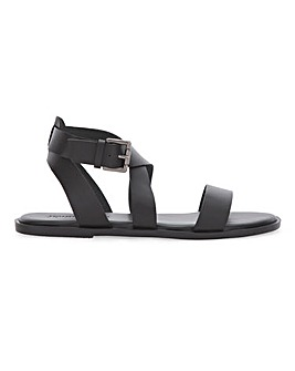 Leather Gladiator Sandals Extra Wide EEE Fit