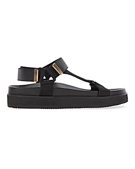 Leather Sports Sandals Extra Wide EEE Fit