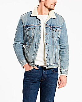 Levi's B&T Sherpa Trucker Jacket