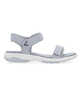 Heavenly Soles Sports Sandals Extra Wide EEE Fit