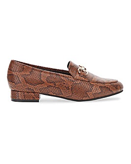 Albert Cut Loafer with Trim Wide E Fit