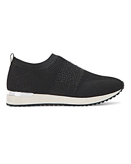 Cushion Walk Fly Knit Slip On Extra Wide EEE Fit