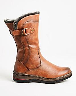 Heavenly Feet Buckle Boot Extra Wide EEE Fit