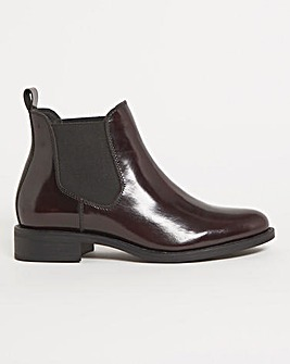 Leather Chelsea Boot Extra Wide EEE Fit