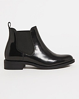 Leather Chelsea Boot Wide E Fit