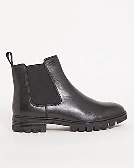 Water Resistant Chelsea Boot Extra Wide EEE Fit