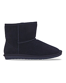 Low Cut Warm Lined Boot Extra Wide EEE Fit