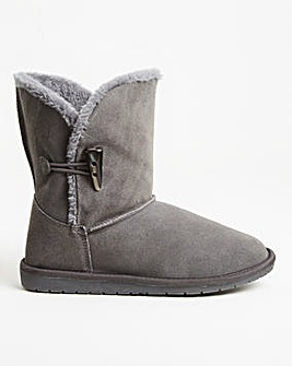 Warm Lined Boot Extra Wide EEE Fit