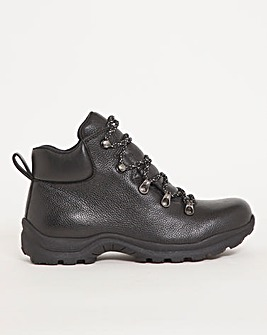 Waterproof Leather Hiking Boot Wide E Fit