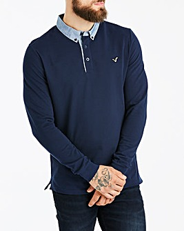 Voi LS Typhoon Collar Polo Long