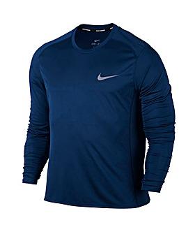 Nike Dry Miller Long Sleeve Top Regular
