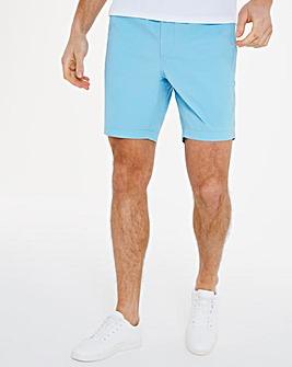 Blue Comfort Waist Chino Shorts