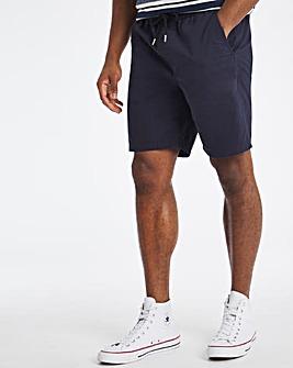 Navy Elasticated Waist Dock Shorts