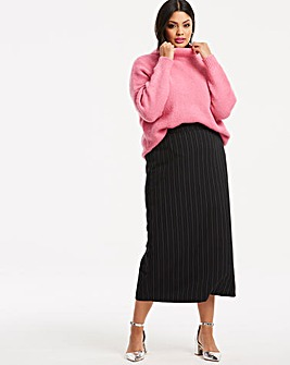 Pin Stripe Maxi Skirt