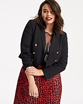 Cropped Statement Blazer