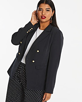 Black Statement Trophy Blazer
