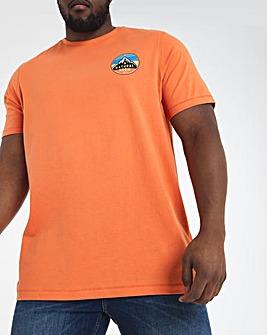 Orange Mountains Graphic Tee Long