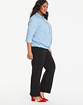 Maternity Tailored Bootcut Trouser
