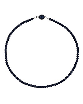Jon Richard Navy Allway Pearl Necklace