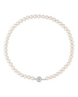 Jon Richard Cream Allway Pearl Necklace