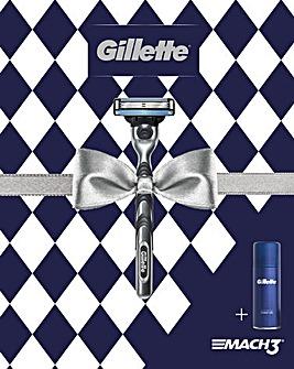 Gillette Gift Set Mach3 Razor Gift Set