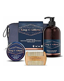 King C Gillette Beard Essentials