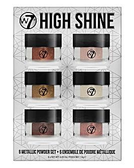 W7 High Shine Metallic Powders