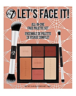 W7 Let's Face it! Face Palette