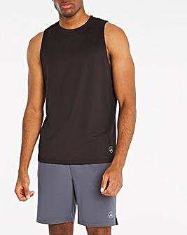 Jacamo Active Black Training Vest