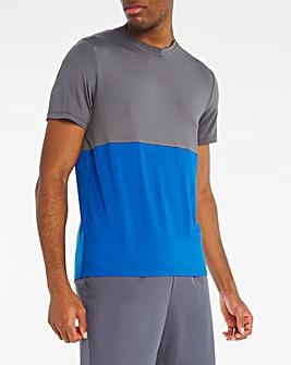 Jacamo Active Colourblock Training T-Shirt