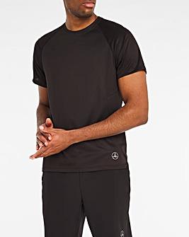 Jacamo Active Black Training T-Shirt