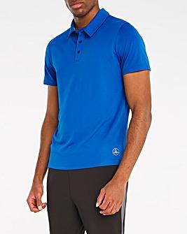 Jacamo Active Blue Golf Polo Shirt
