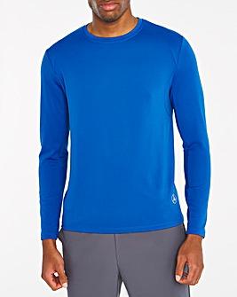 Jacamo Active Blue Long Sleeve Training Top