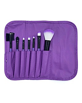LaRoc 7 Piece Purple Brush Set